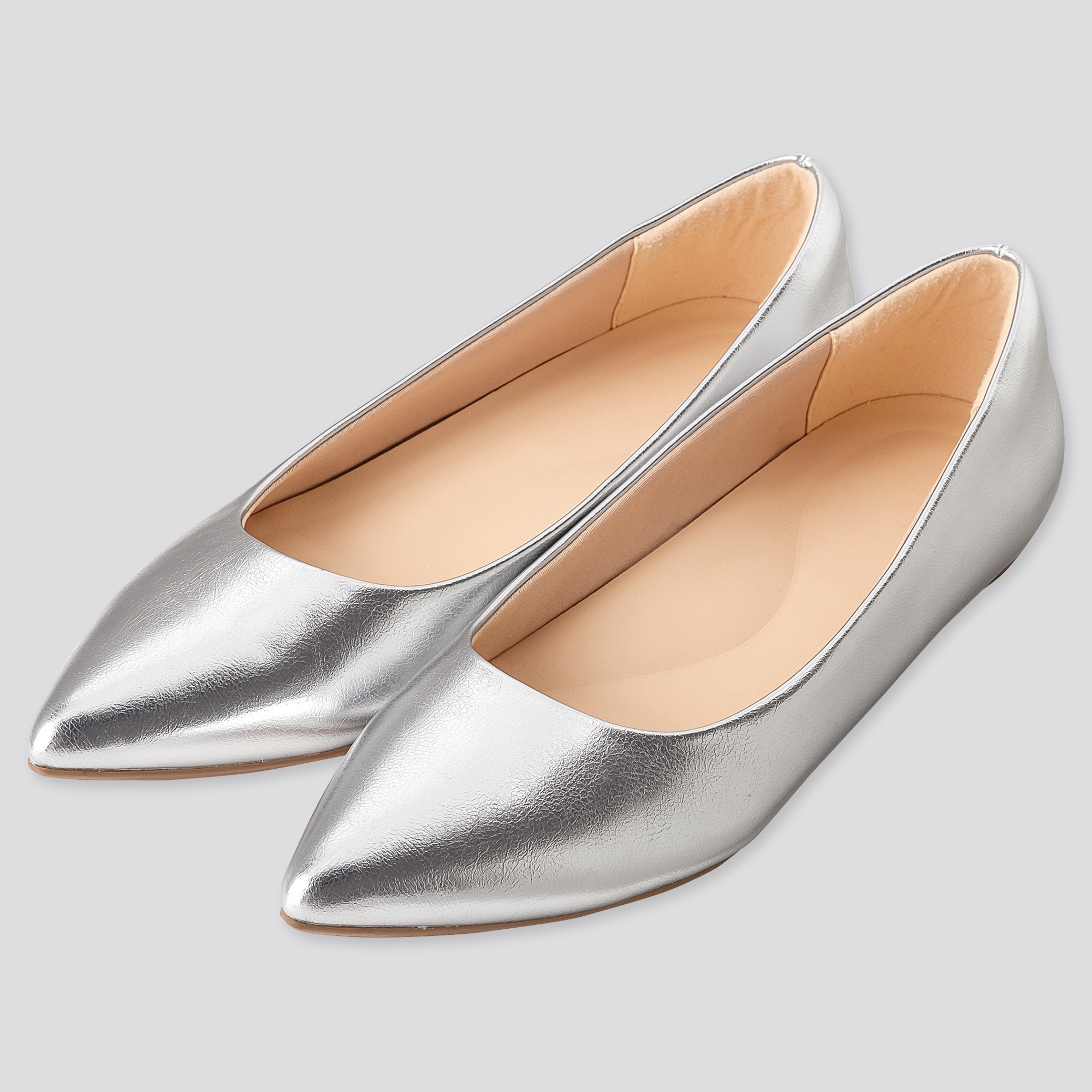 WOMEN COMFORT FEEL POINTED FLAT SHOES