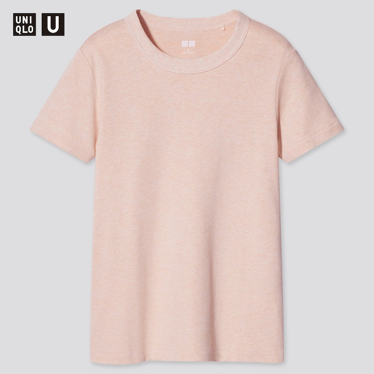 Women Uniqlo U Crew Neck Short Sleeved T Shirt Uniqlo Uk