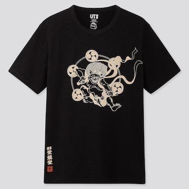 MEN OMOTENASHI WAGASHI KAMINARI UT GRAPHIC T-SHIRT