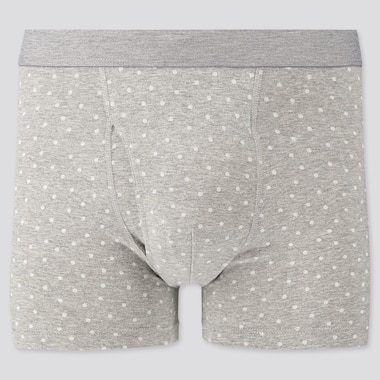 Men Supima Cotton Printed Boxer Briefs