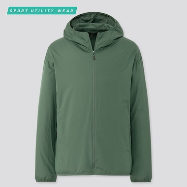 MEN UV PROTECTION POCKETABLE PARKA
