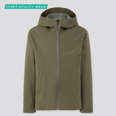 Men Blocktech Parka, Olive, Medium