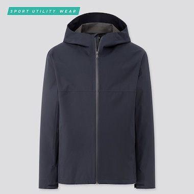 Men Blocktech Parka, Navy, Medium