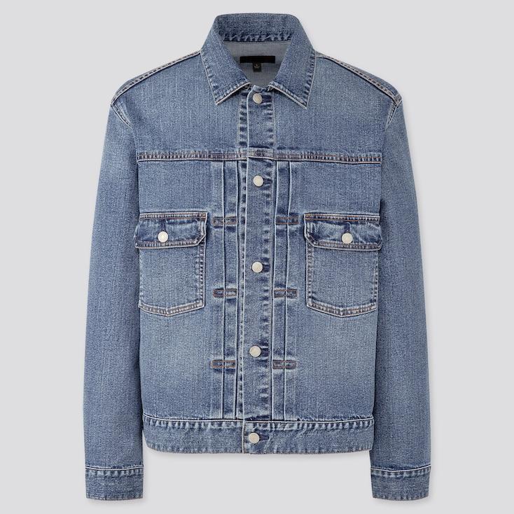 Denim Jacket,                             Blue, Large