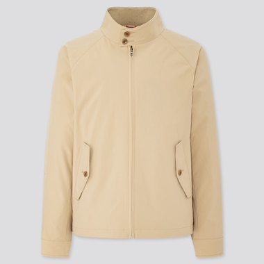 Men Harrington Jacket, Beige, Medium