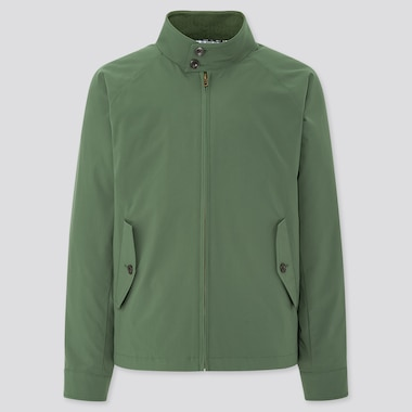 Men Harrington Jacket, Olive, Medium
