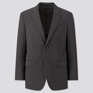 Men Wool Stretch Blazer Jacket