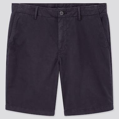 Men Chino Shorts, Navy, Medium