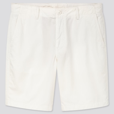 "Men Chino Shorts (Tall 10"") (Online Exclusive), White, Medium"