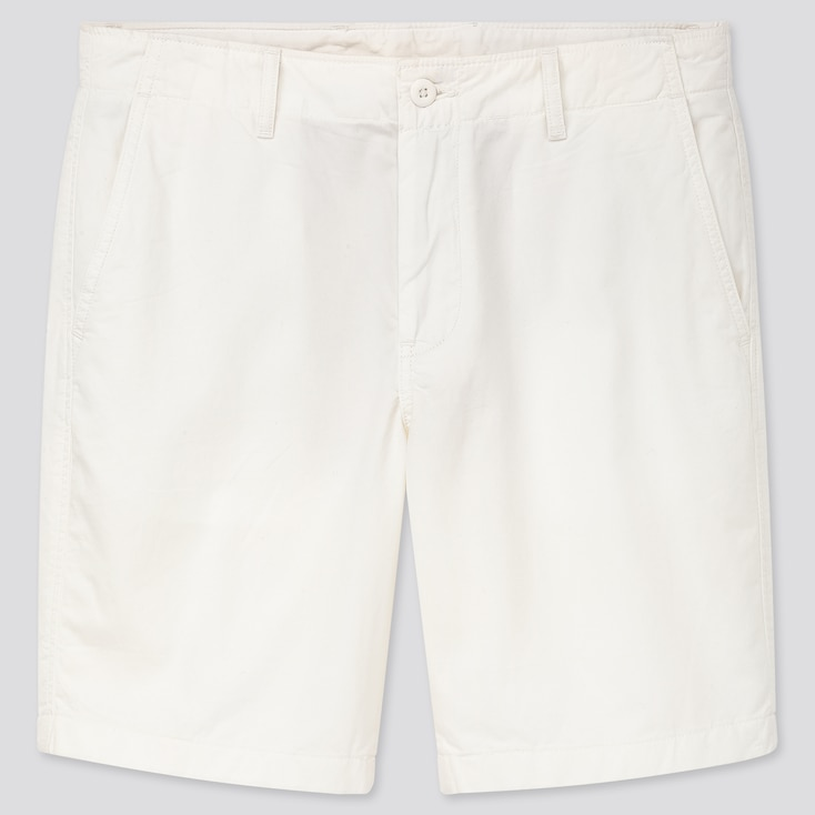 "Men Chino Shorts (Tall 10"") (Online Exclusive), White, Large"