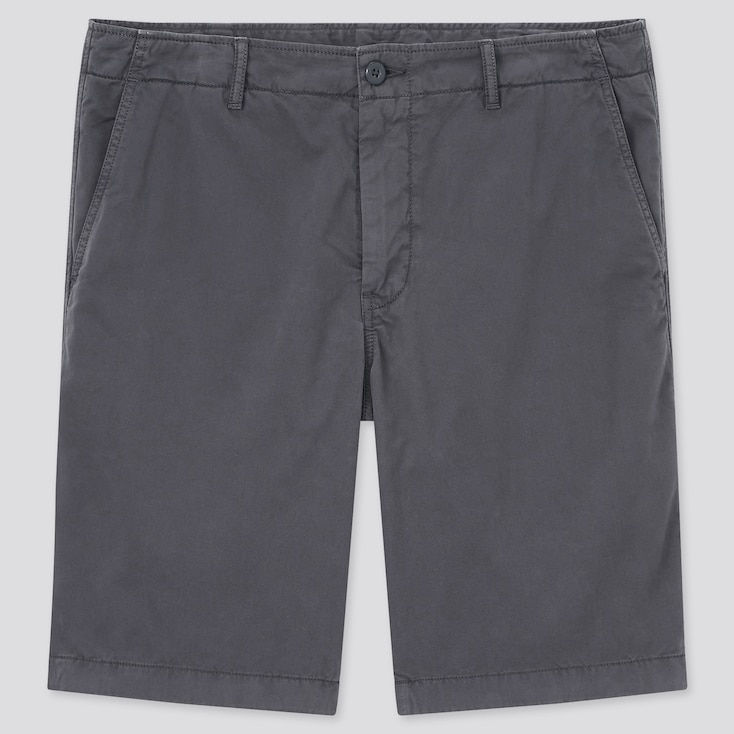 "Men Chino Shorts (Tall 10"") (Online Exclusive), Dark Gray, Large"