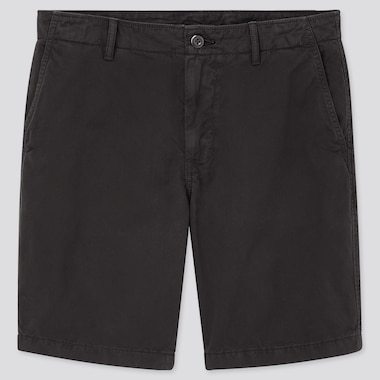 Men Chino Shorts (Tall) (Online Exclusive), Black, Medium