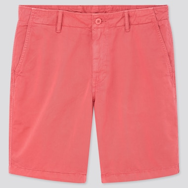 "Men Chino Shorts (Tall 10"") (Online Exclusive), Pink, Medium"