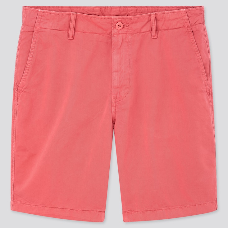 "Men Chino Shorts (Tall 10"") (Online Exclusive), Pink, Large"