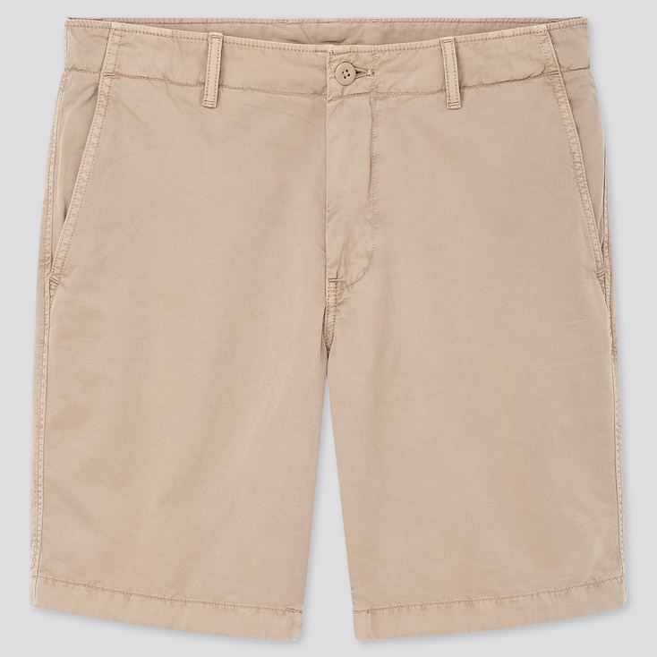 "Men Chino Shorts (Tall 10"") (Online Exclusive), Beige, Large"