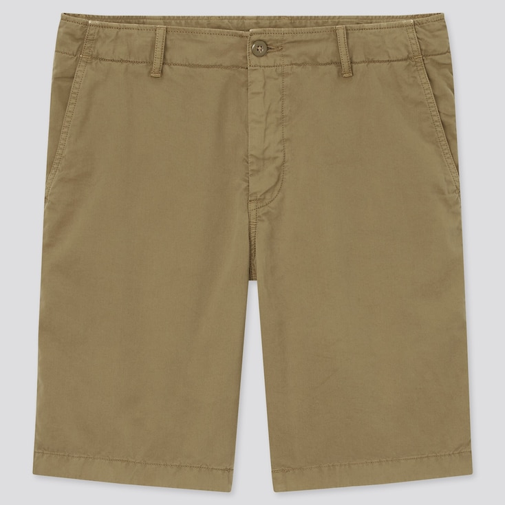 Men Chino Shorts (Tall) (Online Exclusive), Brown, Large