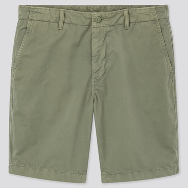 Men Chino Shorts (Online Exclusive), Green, Medium