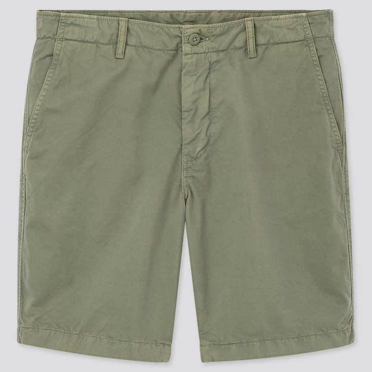 Men Chino Shorts (Tall) (Online Exclusive), Green, Large