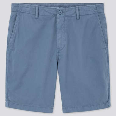 Men Chino Shorts (Online Exclusive), Blue, Medium