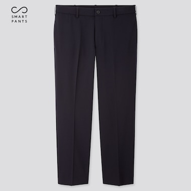 MEN EZY ANKLE PANTS (2WAY STRETCH), NAVY, medium
