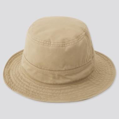 Kids Uv Protection Hat, Beige, Medium