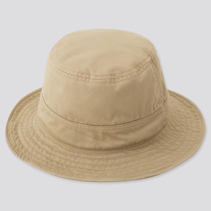 Kids Uv Protection Hat, Beige, Large