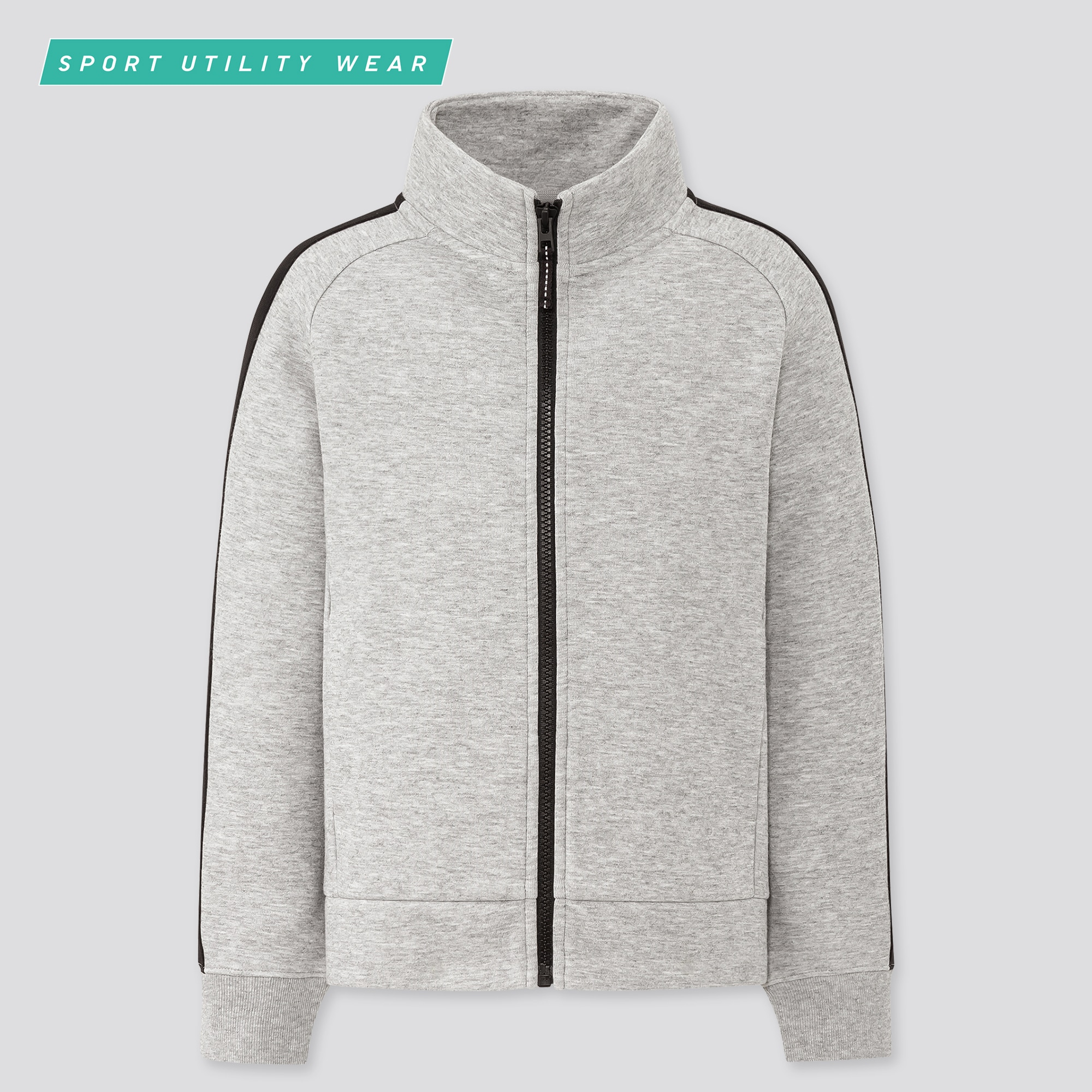 Kids DRY Stretch Sweat Zipped Blouson Jacket