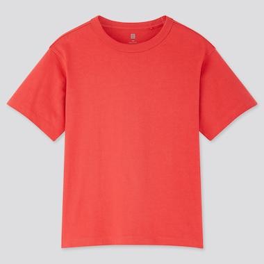 Kinder Lockeres T-Shirt mit Rundhalsausschnitt