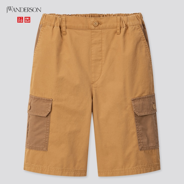 Kids Cargo Shorts (Jw Anderson), Brown, Large