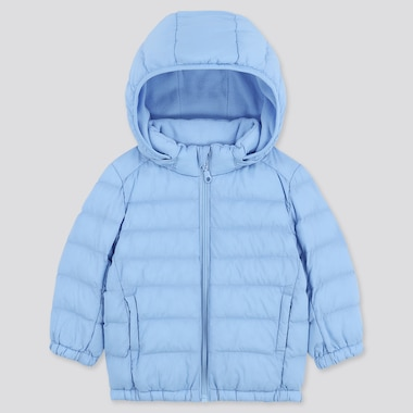 Babies Toddler Light Warm Padded Hooded Parka