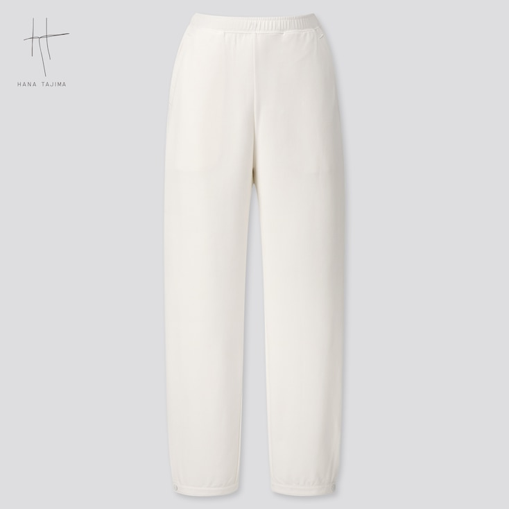 Women Rayon Sweatpants (Hana Tajima) (Online Exclusive), White, Large