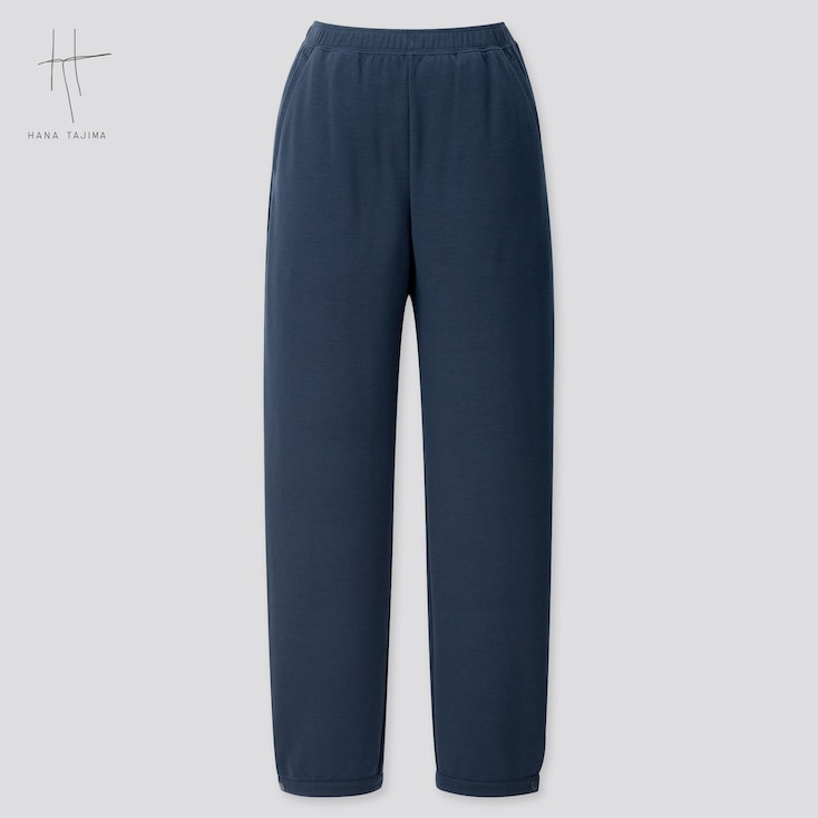 Women Rayon Sweatpants (Hana Tajima) (Online Exclusive), Navy, Large