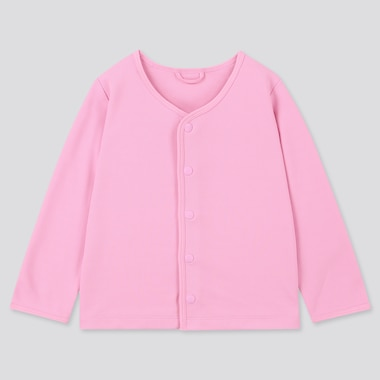 Toddler Uv Protection Long-Sleeve Cardigan, Pink, Medium