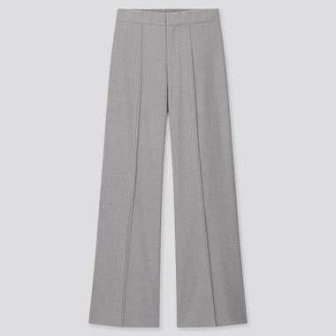 Women High Waisted Wide Leg Trousers
