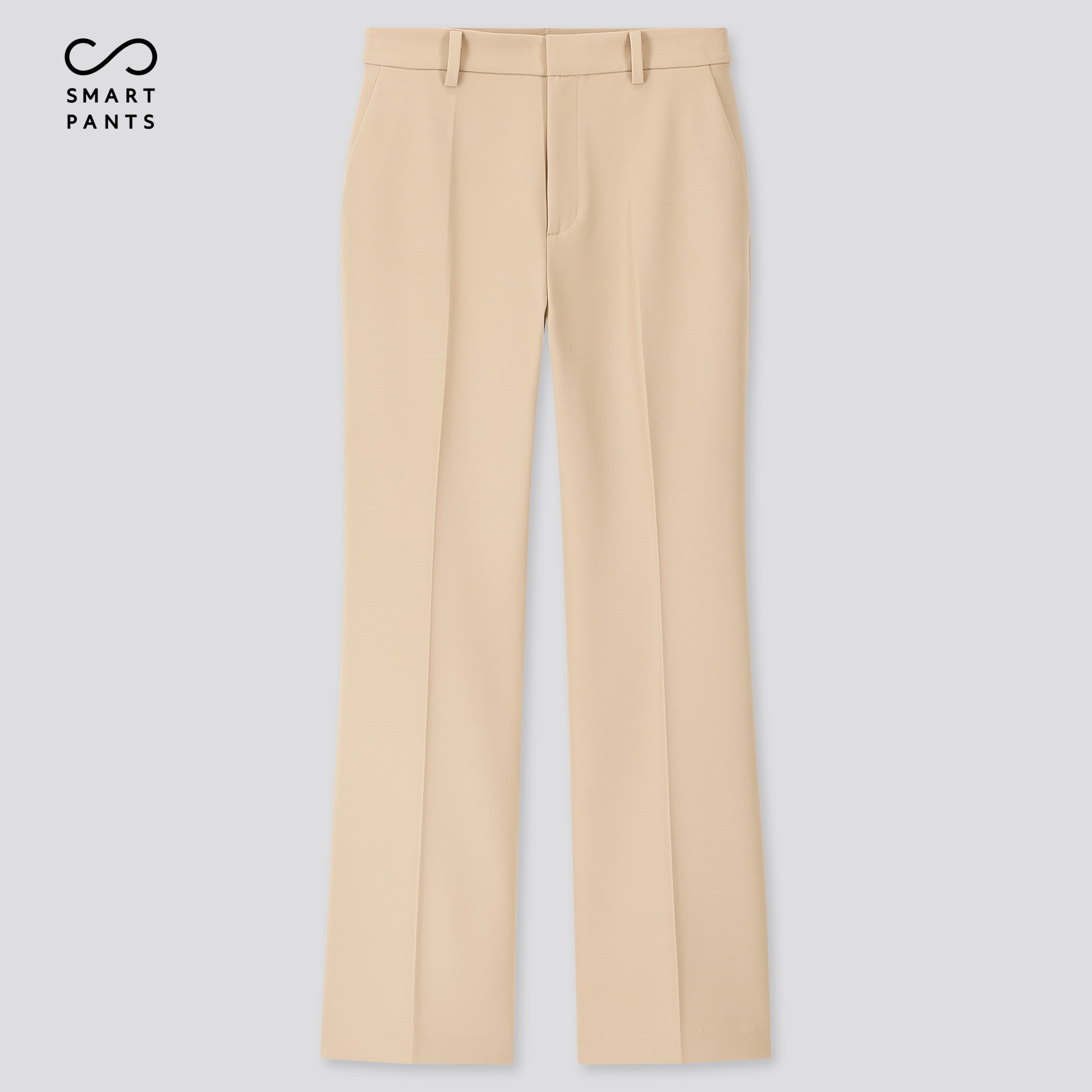 WOMEN EZY 2-WAY STRETCH FLARE ANKLE-LENGTH PANTS