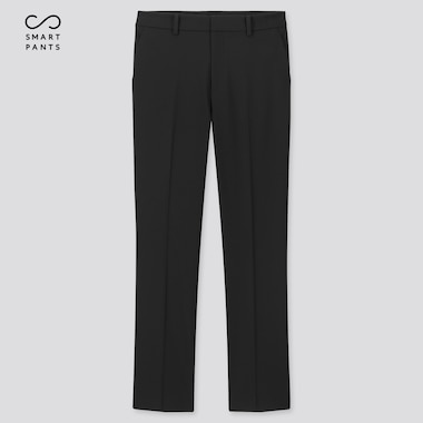 Women Ezy 2-Way Stretch Ankle-Length Pants, Black, Medium