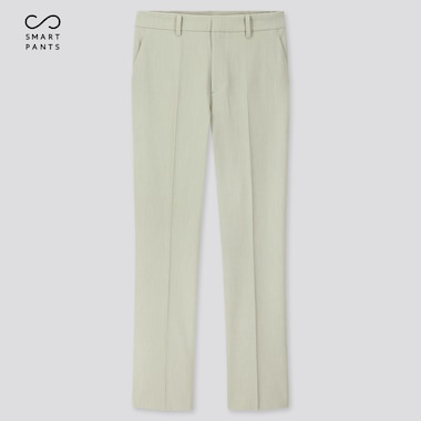 Women Ezy 2-Way Stretch Ankle-Length Pants, Light Green, Medium