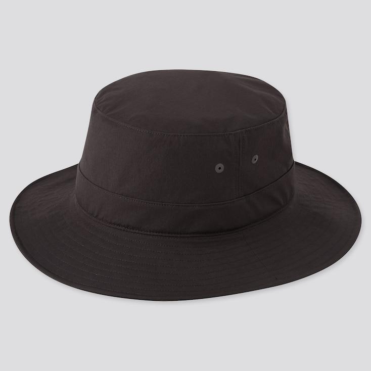 Uv Protection Sports Hat, Black, Large