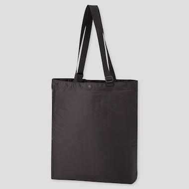 Lightweight Pocketable Tote Bag, Black, Medium