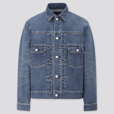 Denim Jacket, Blue, Medium