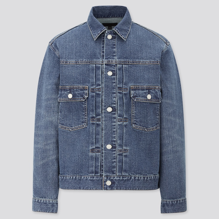 Denim Jacket,                                                                                                                                             Blue, Large