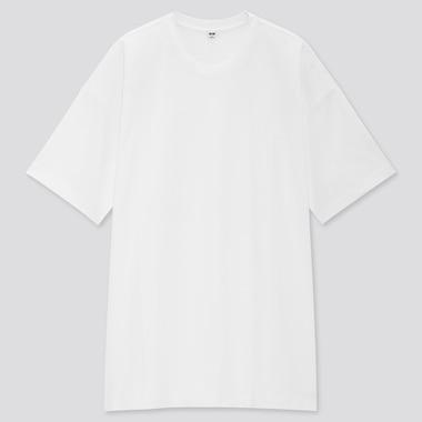 Women Cotton Relaxed Slit Tunic, White, Medium