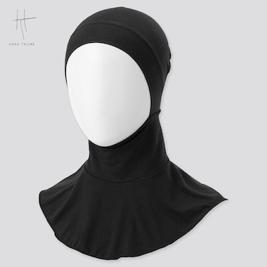 Women Airism Hijab (Hana Tajima) (Online Exclusive), Black, Medium