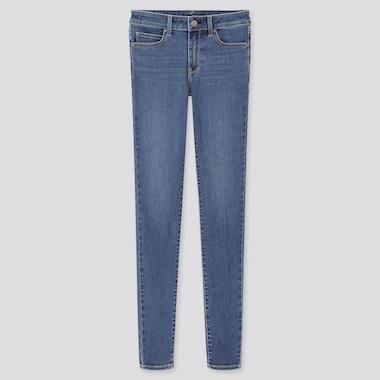 Women Ultra Stretch Jeans, Blue, Medium