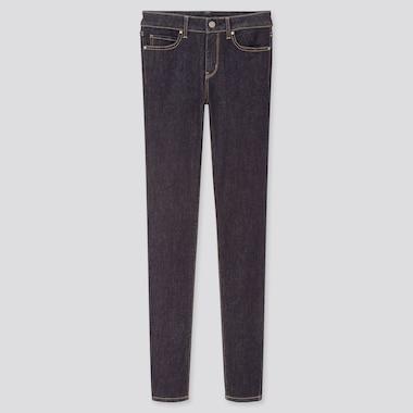 Women Ultra Stretch Jeans, Navy, Medium