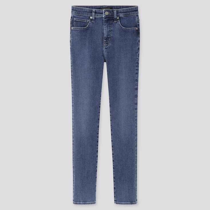 Women High Rise Skinny Ankle Jeans (Sculpting),                                                                                                                                                                         Blue, Large