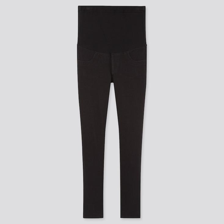 Women Maternity Leggings Pants (Online Exclusive), Black, Large