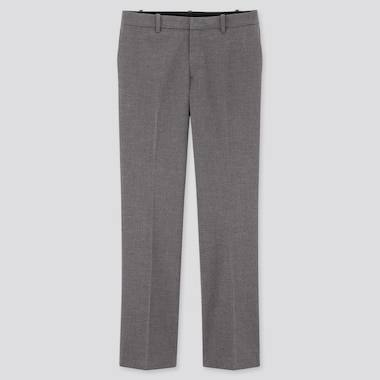 Women Stretch Pants (Online Exclusive), Gray, Medium