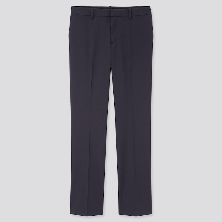 Women Stretch Pants (Online Exclusive), Blue, Large