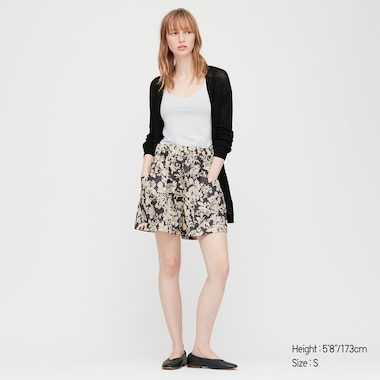 Damen Joy of Print Cargo-Shorts aus Baumwoll-Popeline